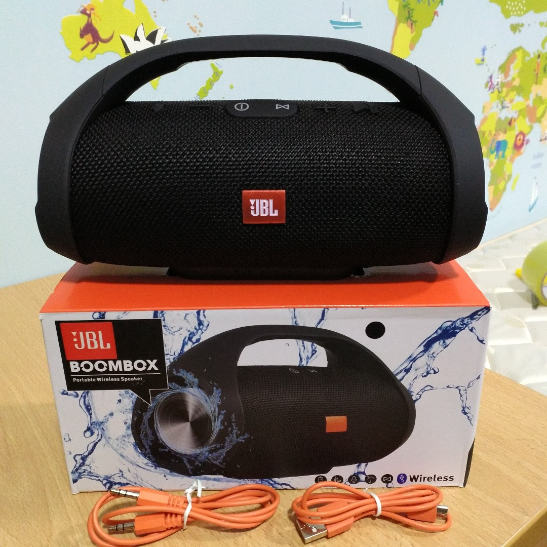 jbl boombox mini oem portable splashproof bluetooth speaker electronics audio on carousell. Black Bedroom Furniture Sets. Home Design Ideas