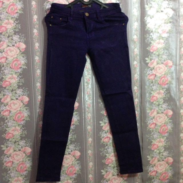 Jeans dark violet