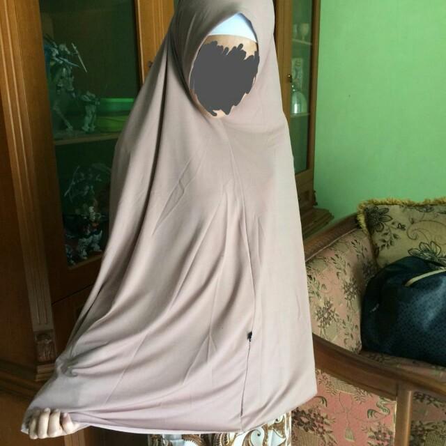 Jilbab jersey syari premium murah