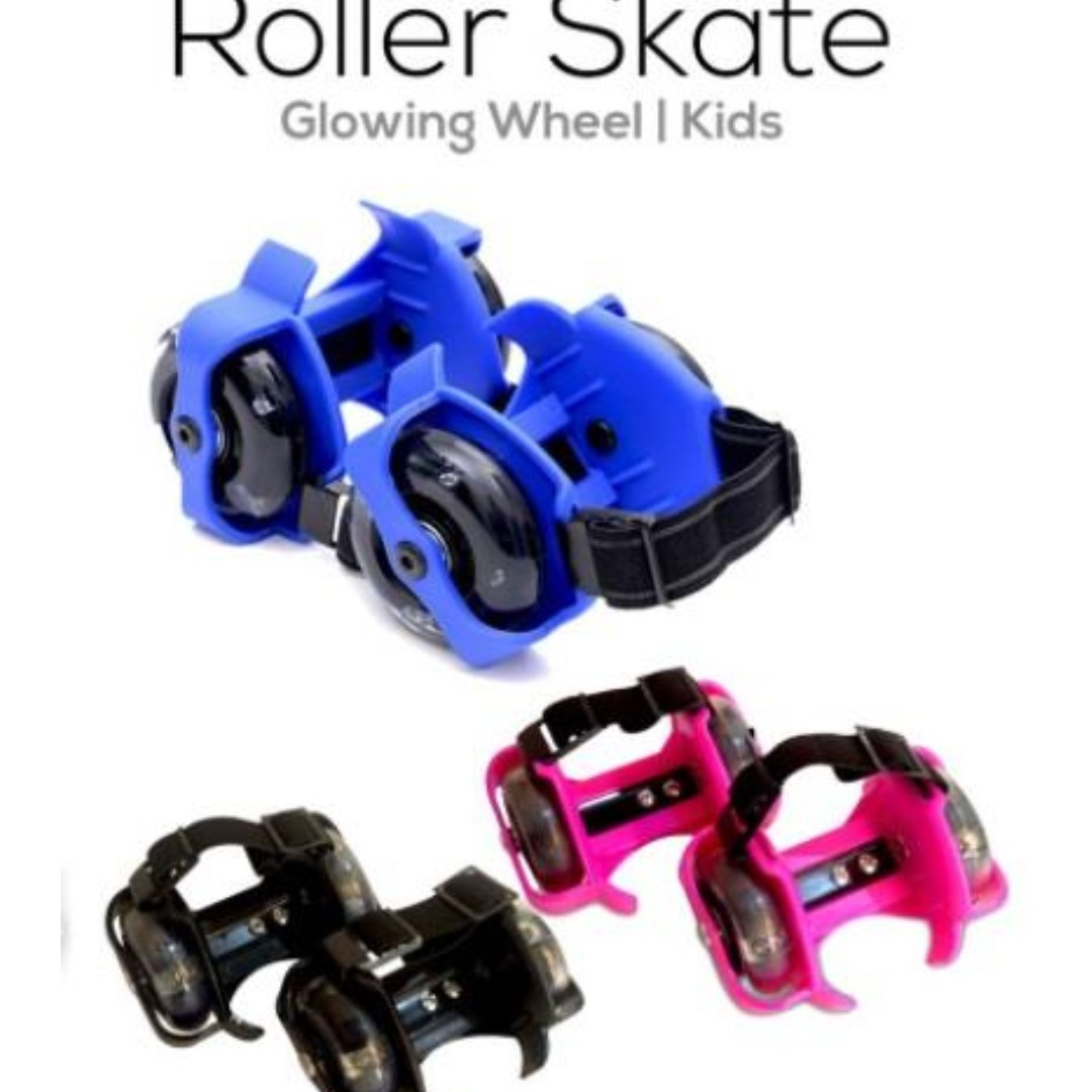 Kids Roller Skates with Glowing Wheel