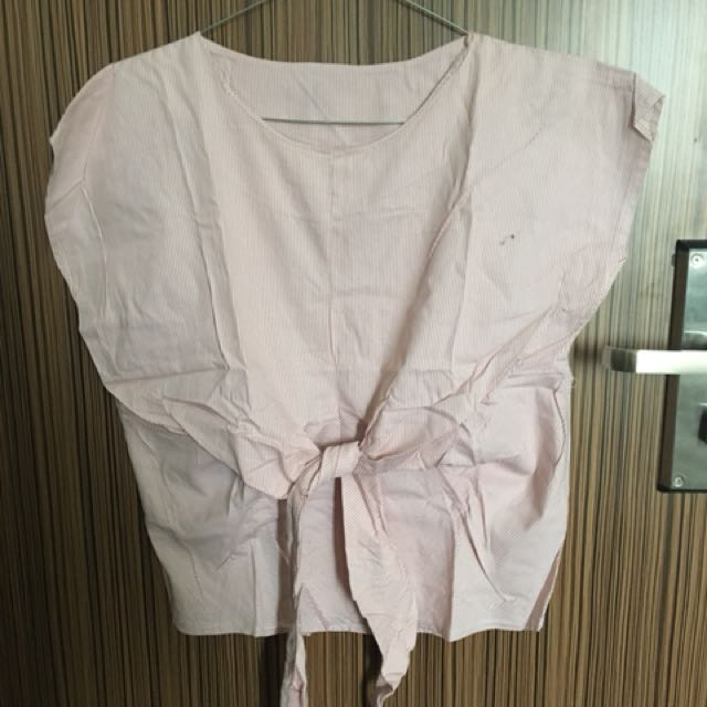 Knot top - soft pink