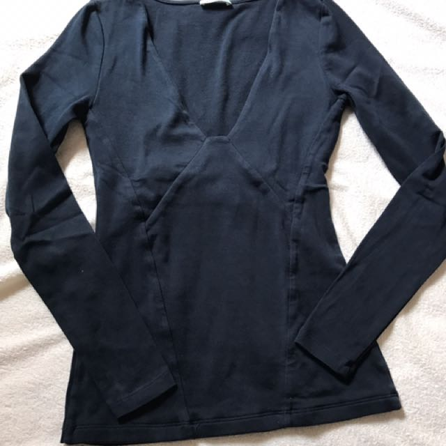Kookaï navy top