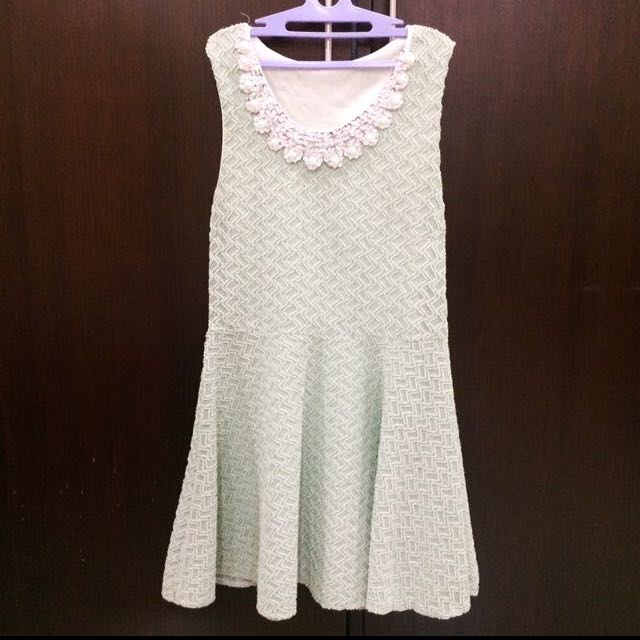 Korean Mint Dress
