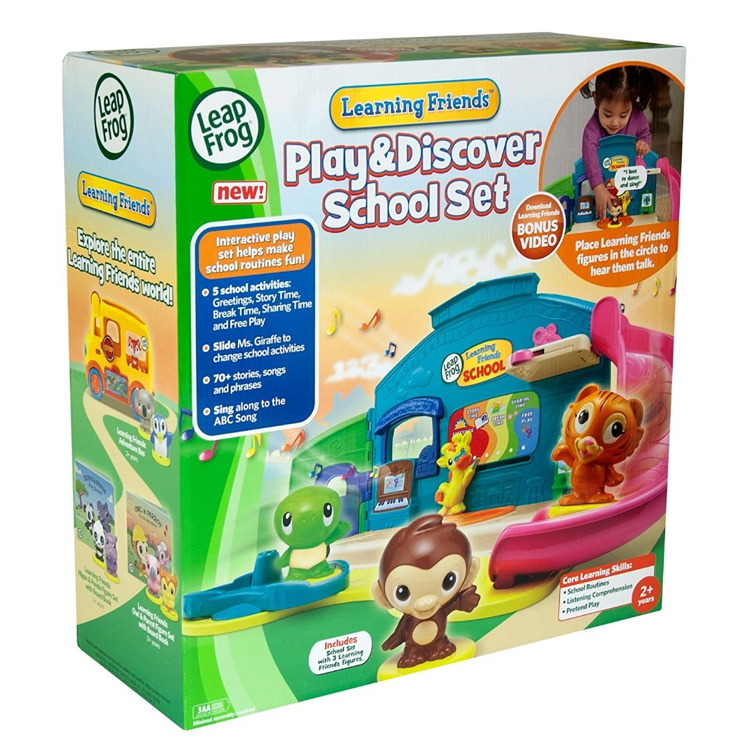LEAP FROG Play and Discover School Set