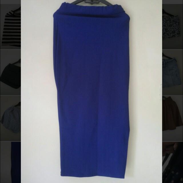 Long skirt Pencil