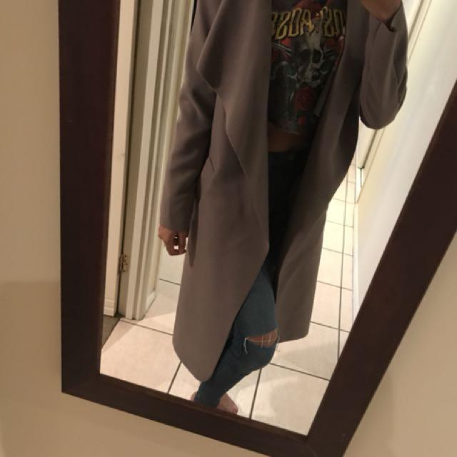 Longline jacket/coat