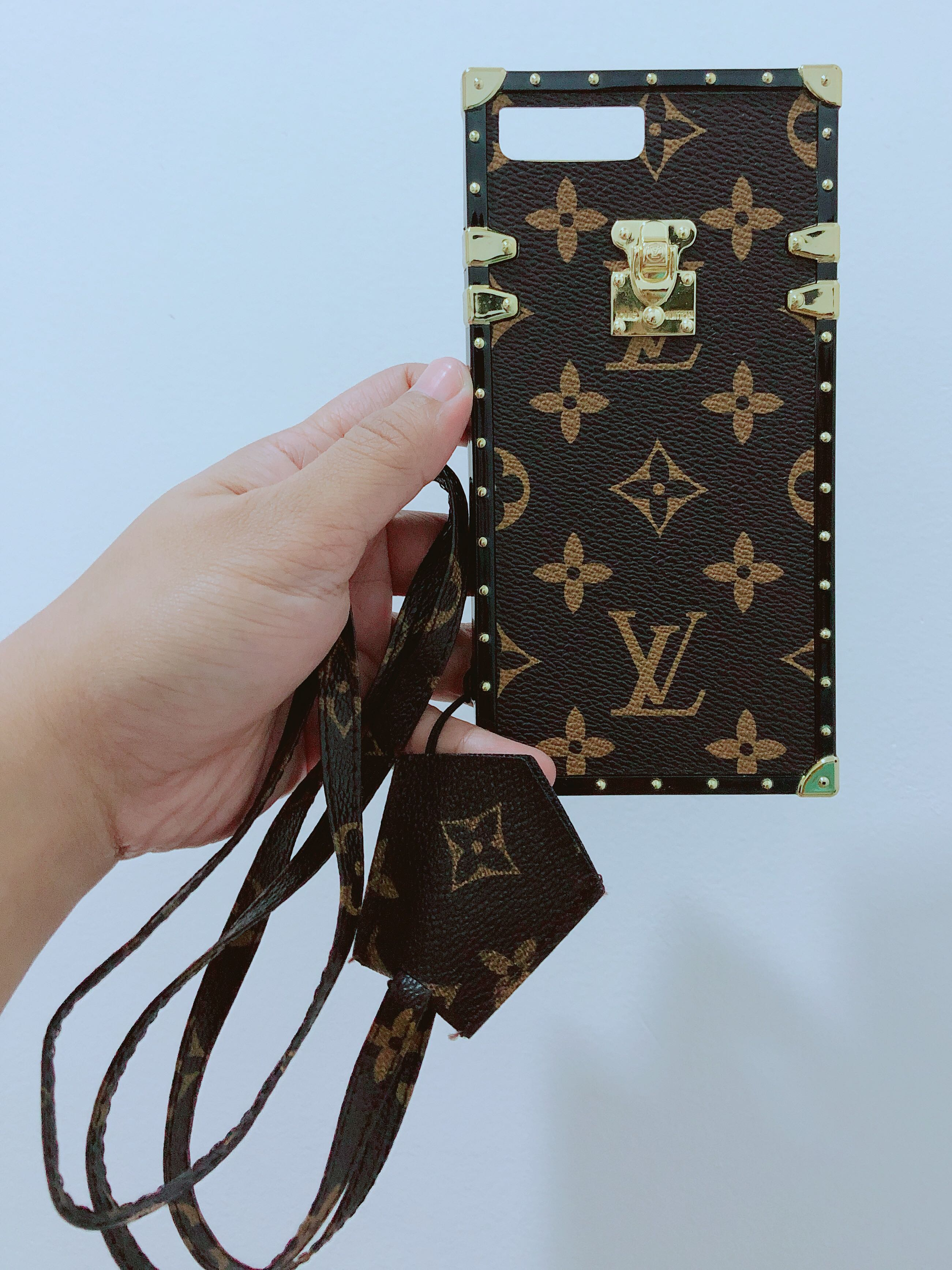 LV Eye Trunk iPhone case for 7+/8+