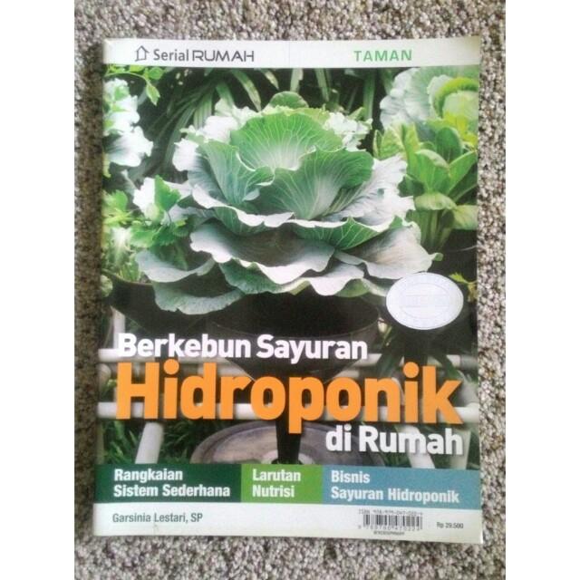 Majalah Serial Rumah Berkebun Sayuran Hidroponik Di Rumah