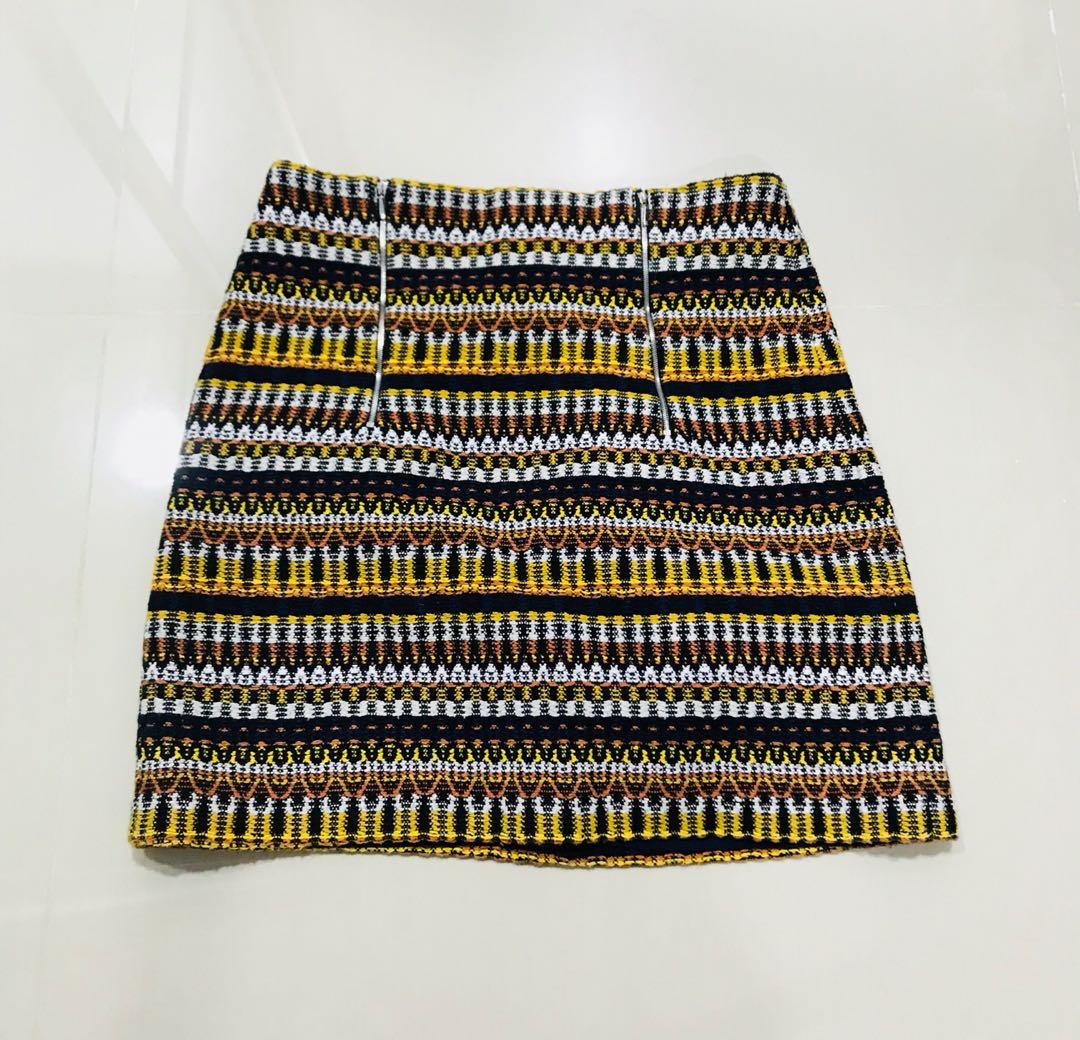 Mango suit mini skirt