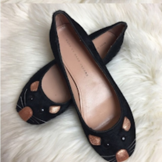 Marc Jacobs mouse flat scrunch