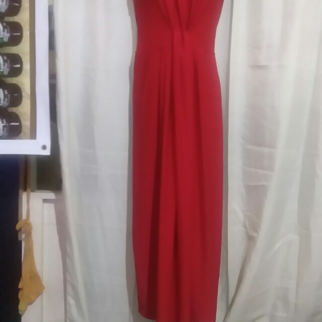 Maxi Dress Red on hand