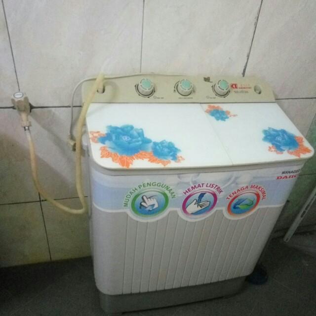Mesin Cuci 2 Tabung