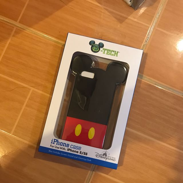 Mickey Mouse Iphone 5/5s Case Orig from Disneyland