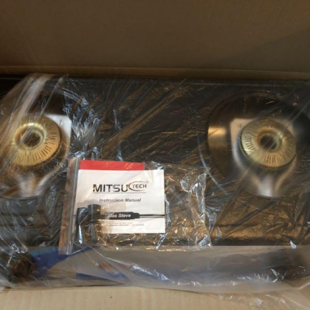 Mitsu 2 Burner Gas Stove