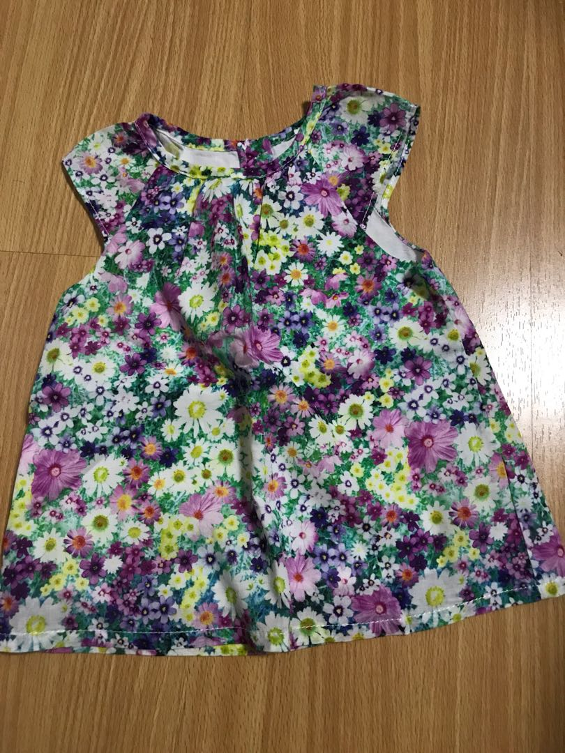 Mothercare floral blouse