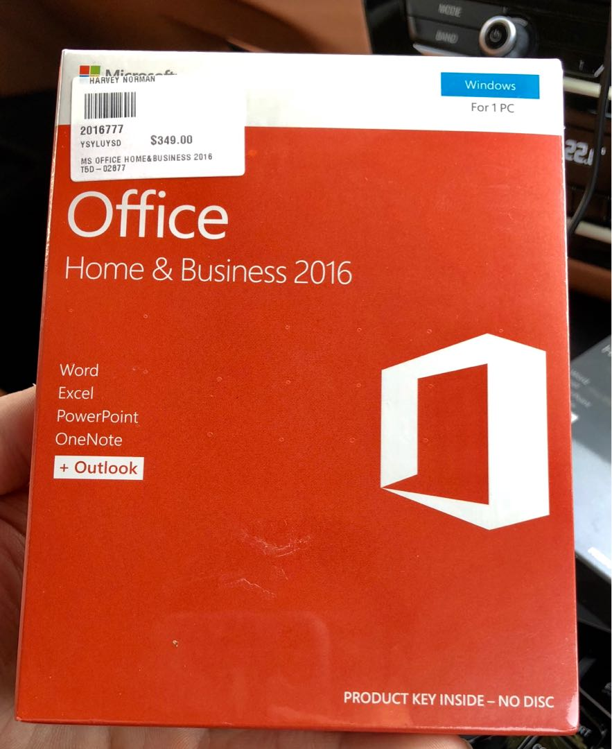 MS Office Home & Business 2016 (PC) sealed, Electronics