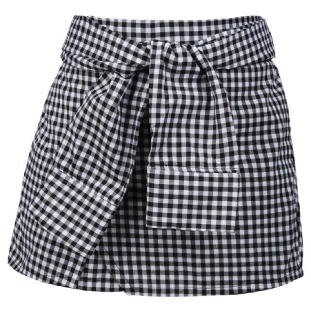 [NEW] Gingham Skort - DISC 10%
