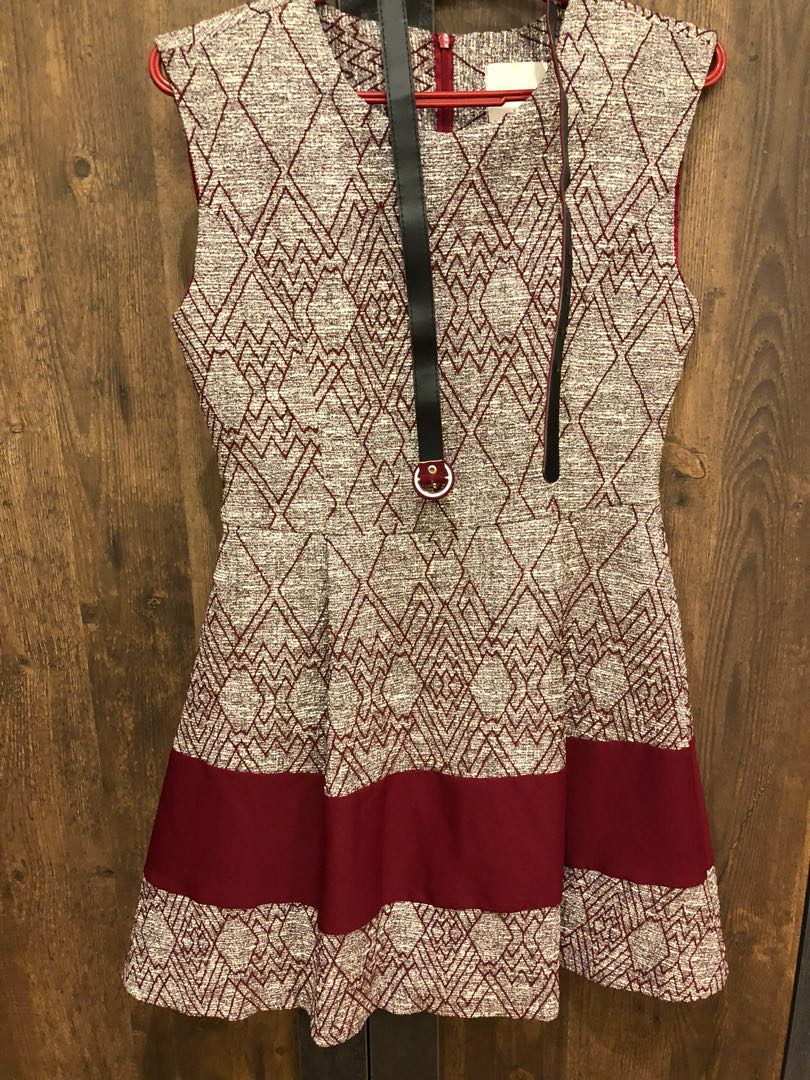 New Korea dress by refill (made in Korea)free size S-M