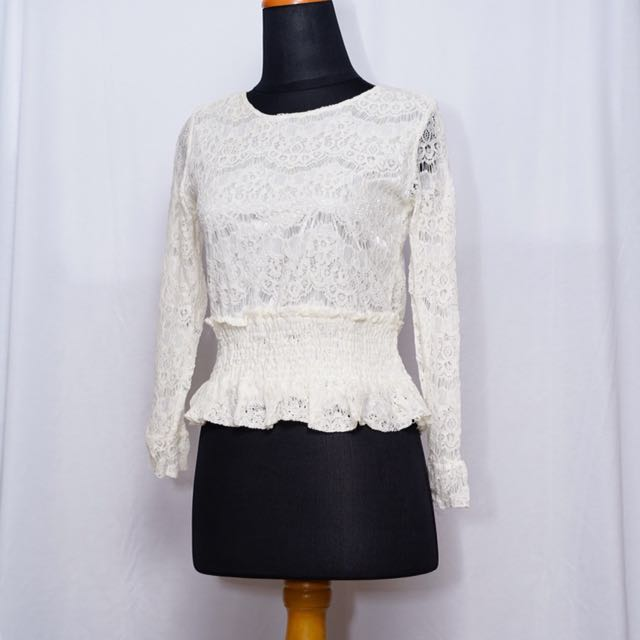 [NEW] Lace Top - DISC 10%