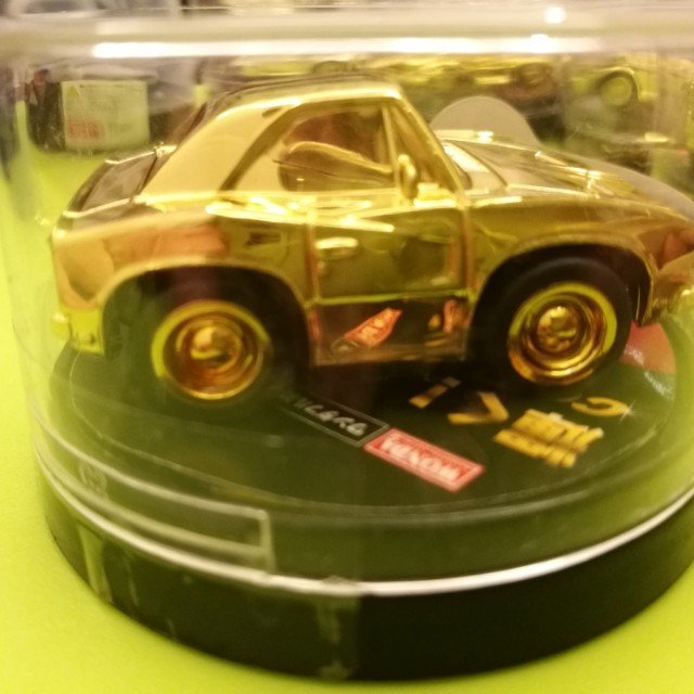 New Original #10 Gold Car Collection American Car Life A-Cars Wonda Limited Edition Dodge Charger