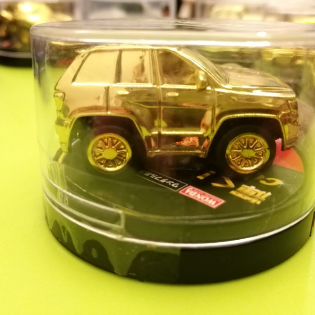 New Original #1 Gold Car Collection American Car Life A-Cars Wonda Limited Edition Jeep Grand Cherokee