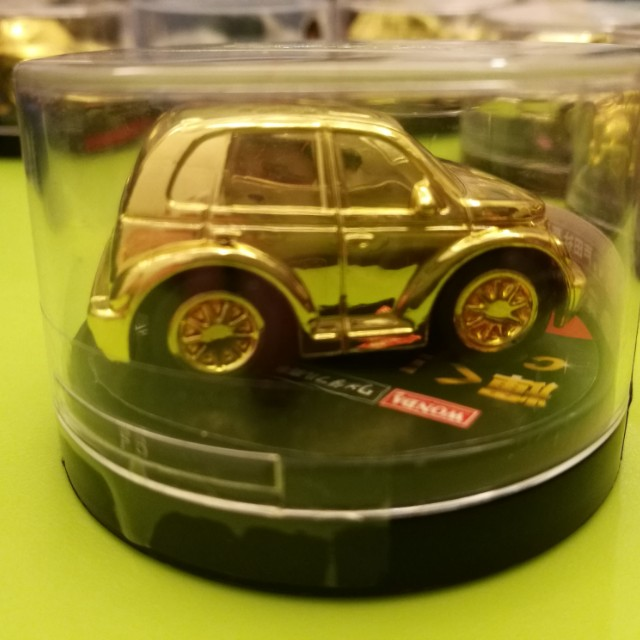 New Original #4 Gold Car Collection American Car Life A-Cars Wonda Limited Edition