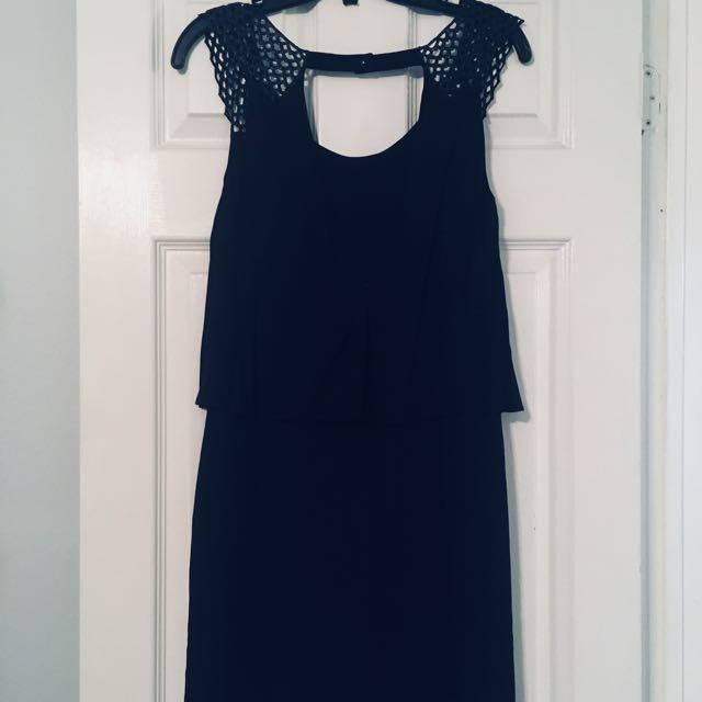 NEW-Sandro little black dress