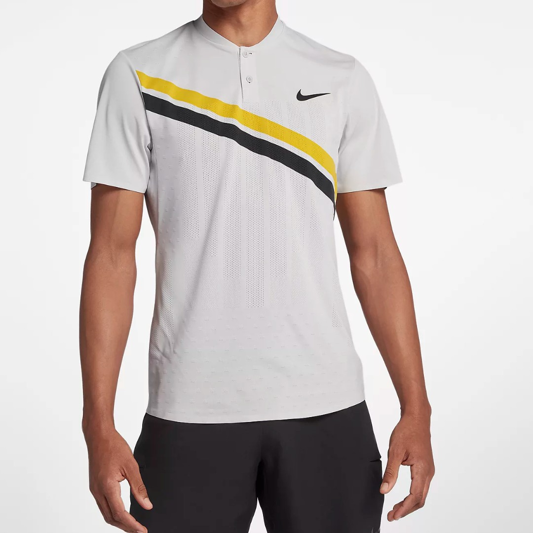 e5d5df81 NIKECOURT ZONAL COOLING ROGER FEDERER ADVANTAGE Men's Tennis Polo ...