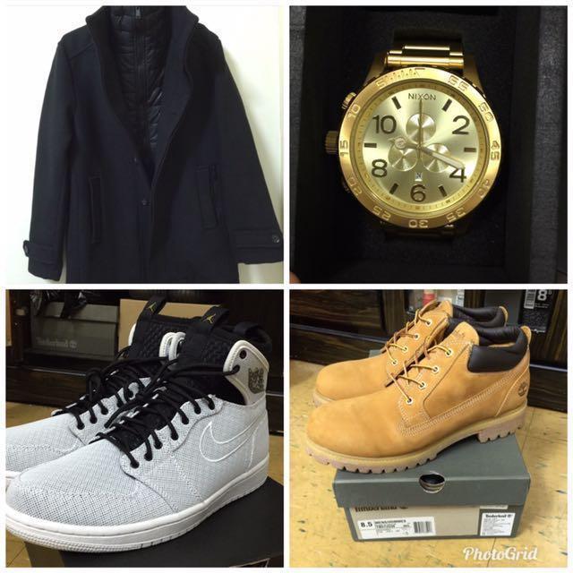 Nixon51-30•Jordan 1•Timberland黃靴•ESPRIT大衣