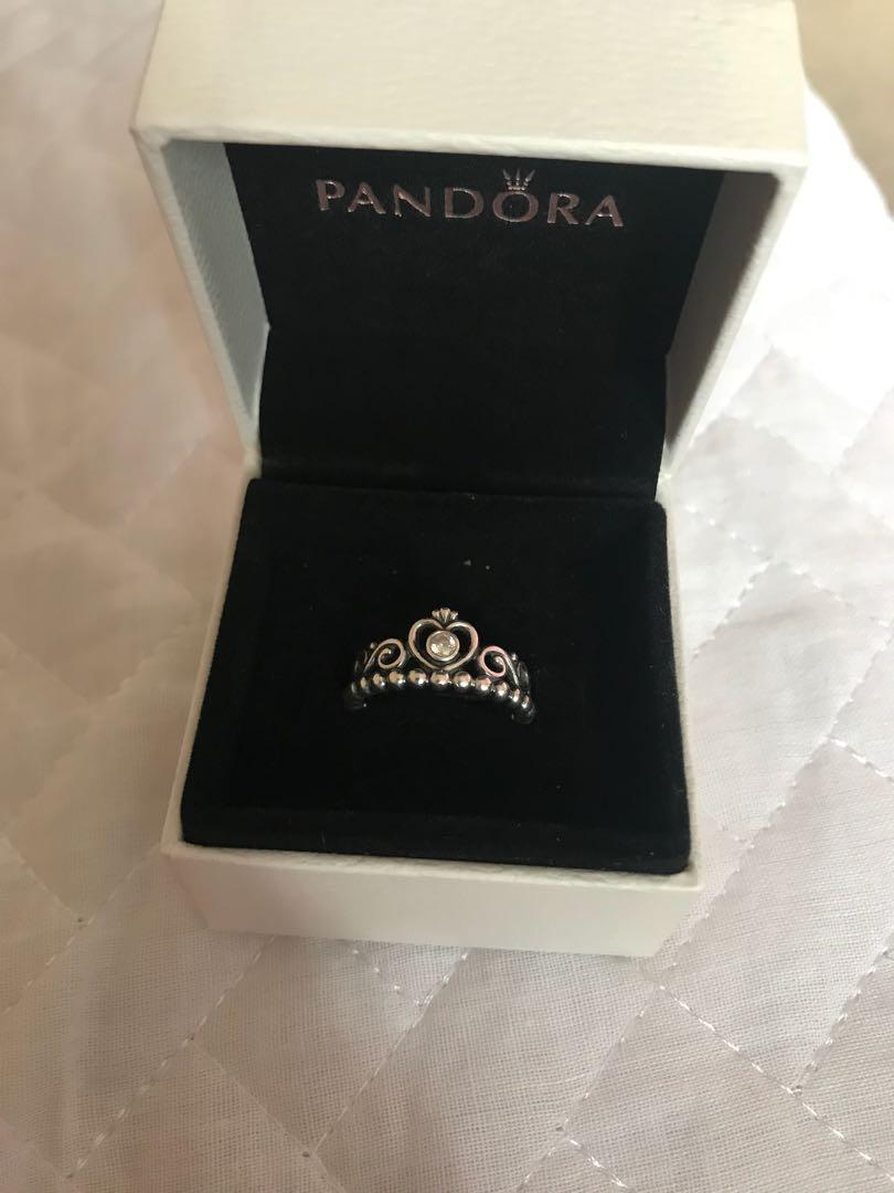 Pandora Sliver Princess Ring