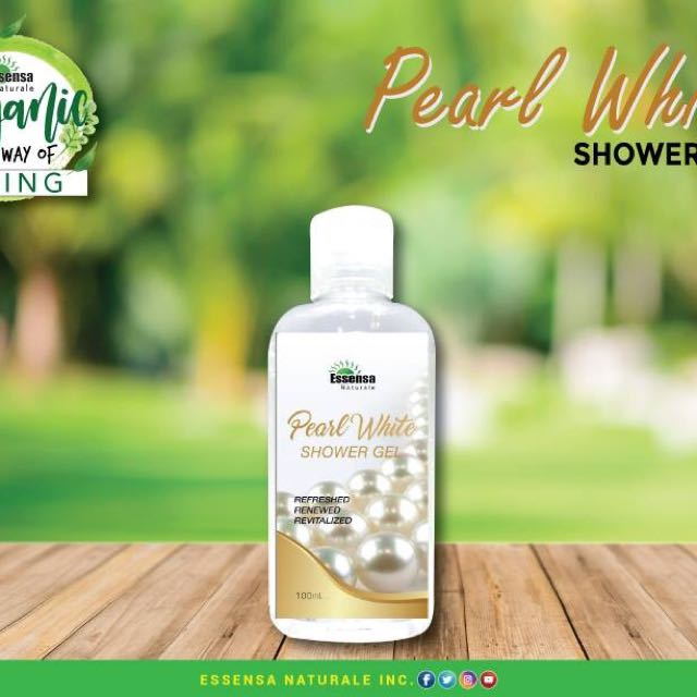 Pearl White Shower Gel