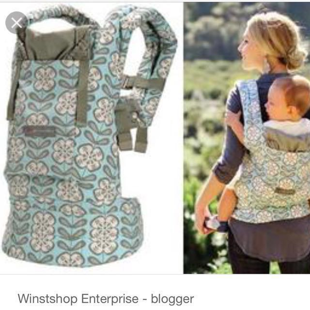 1dba1eab122 Petunia Pickle Bottoms Ergobaby baby carrier Organic cotton on Carousell