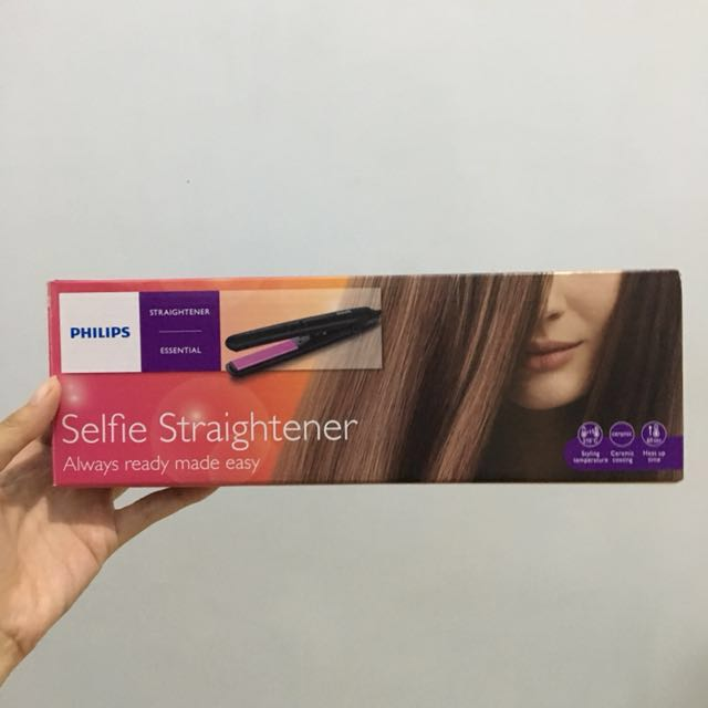 Philips Selfie Straightener (Catokan)