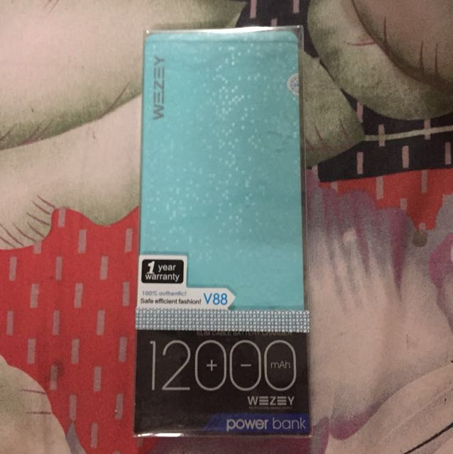 Power Bank Wezey 12000mAh