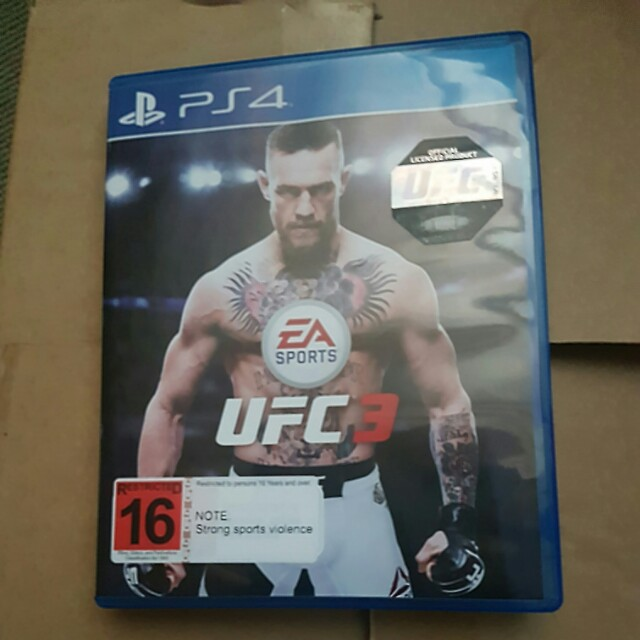 Ps4 EA UFC 3