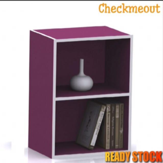 🌈READY STOCK🌈2 Compartment Shelf