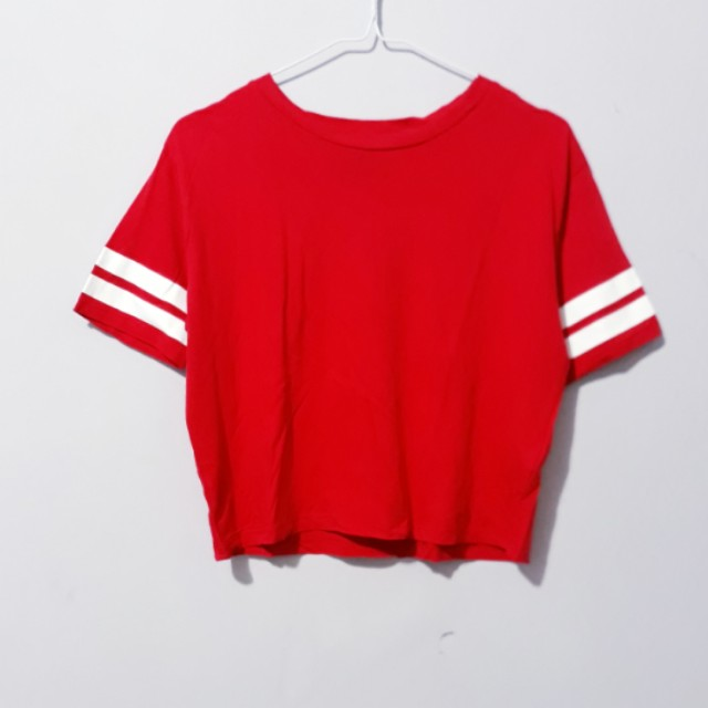 Red Crop Top by HnM