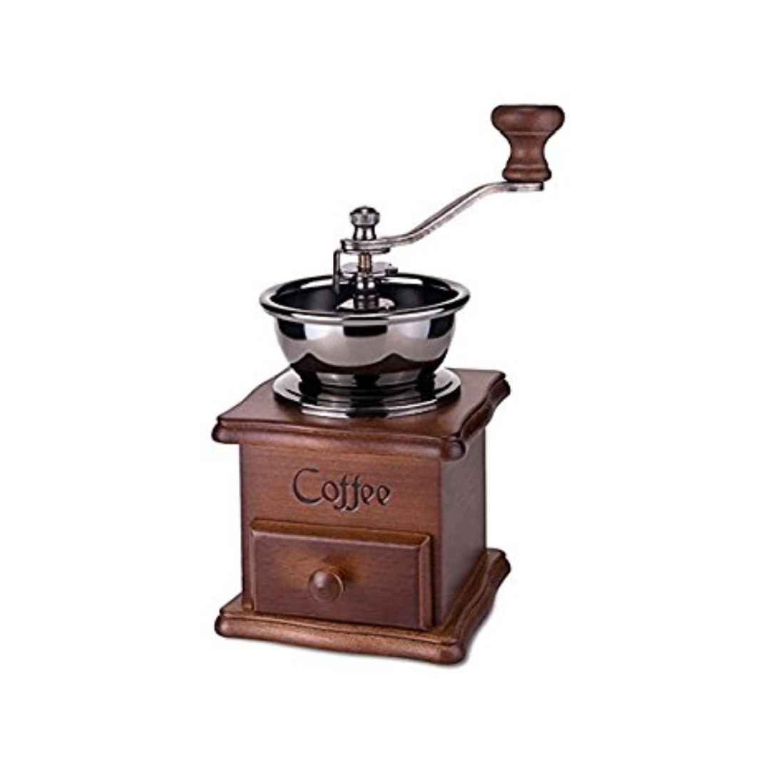Retro Mini Vintage Themed Antique Coffee Mill