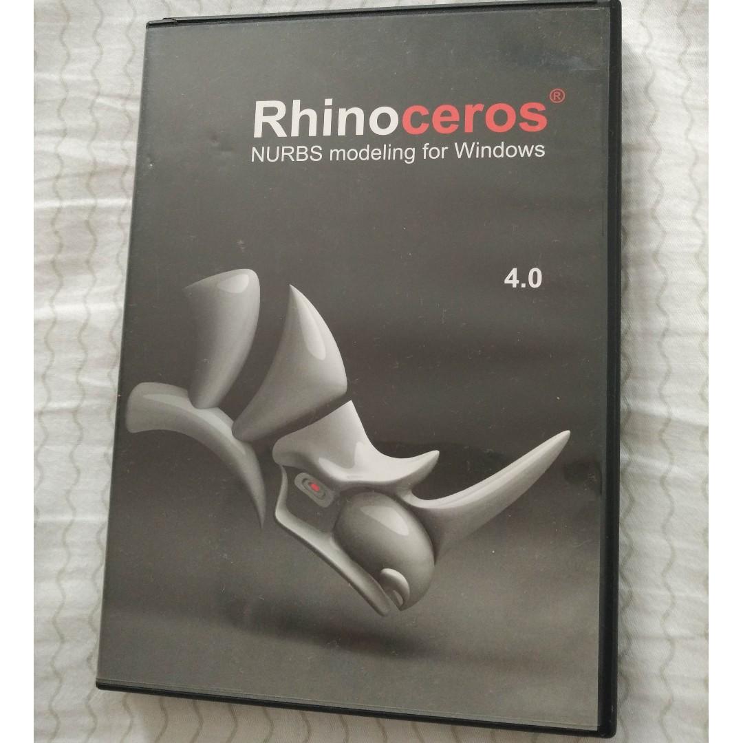 Rhino 4 3D design software for upgrade
