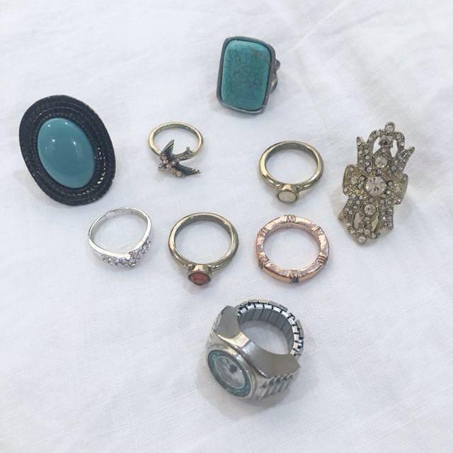 Ring bundle (9 rings)