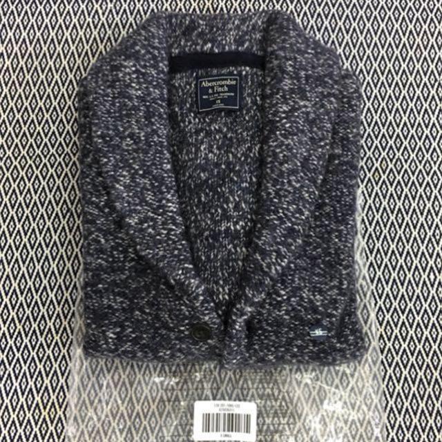 (S) Authentic A&F Snuggle Shawl Cardigan