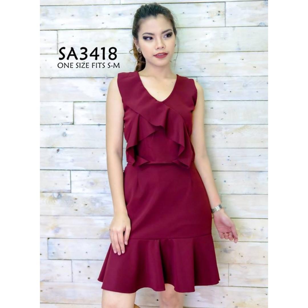 Ava SA3418-16 Dress