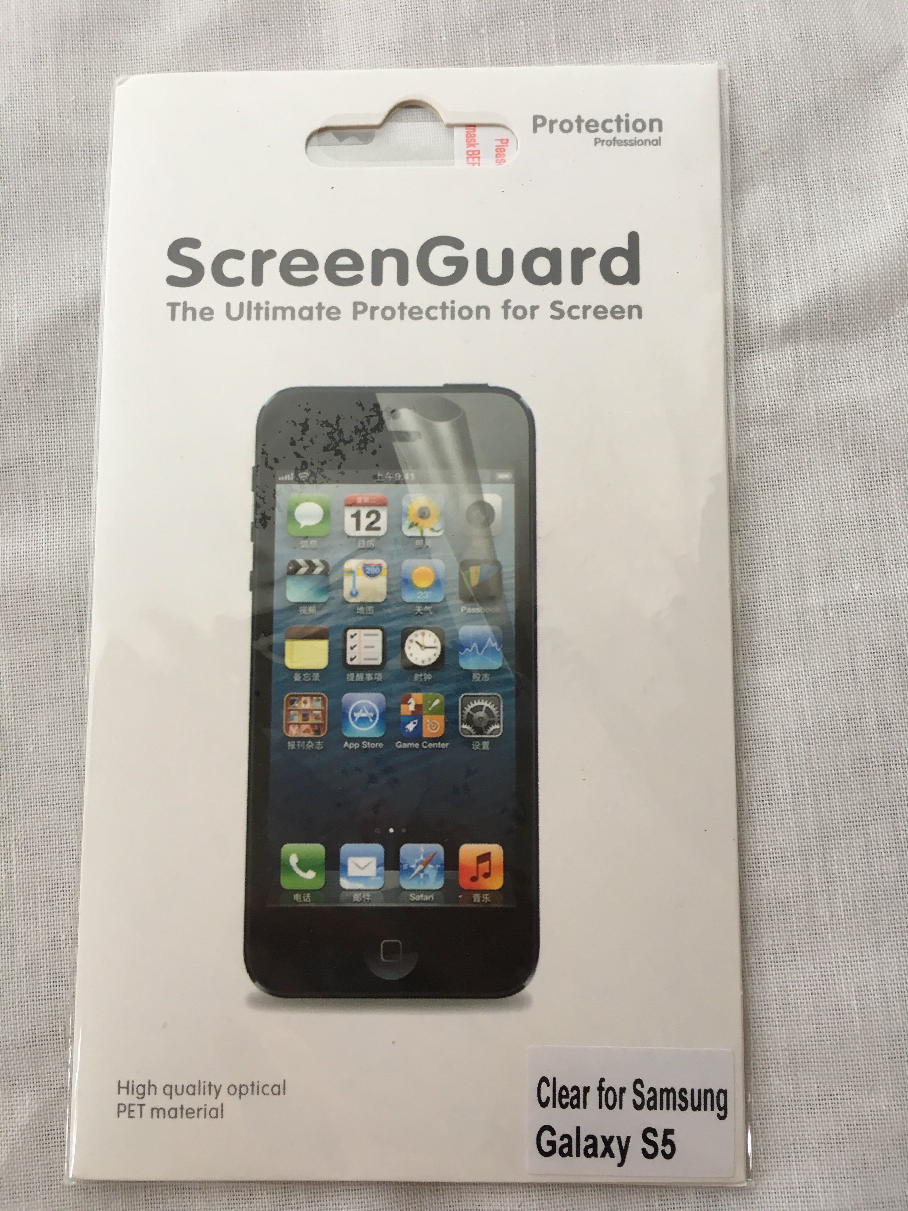 Samsung galaxy S5 clear screen protector, Electronics, Mobile