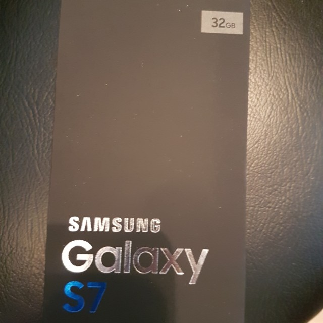 Samsung. S7 Silver 34g mint