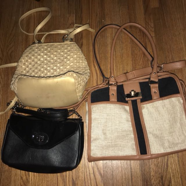 SELLING A BUNCH OF BAGS