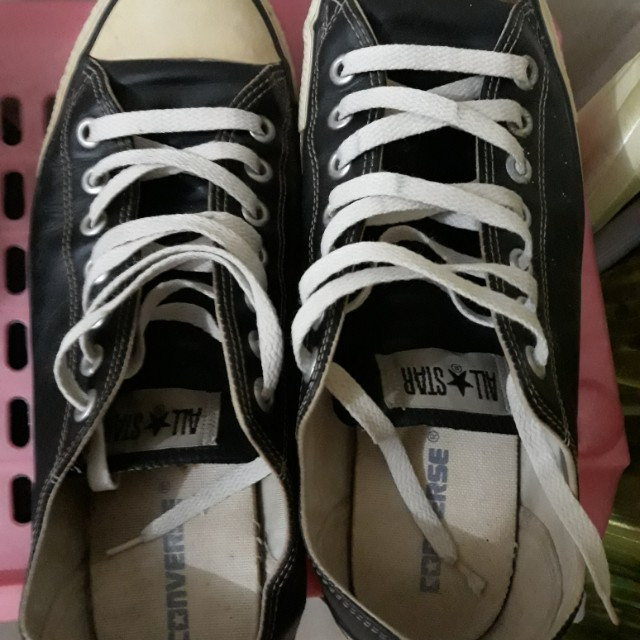 Sepatu convers hitam 52c362ae11