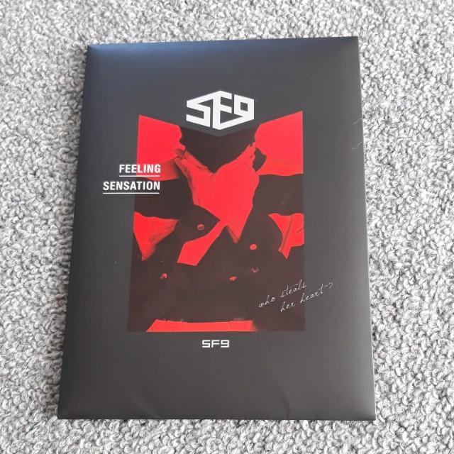 SF9 Feeling Sensation Album