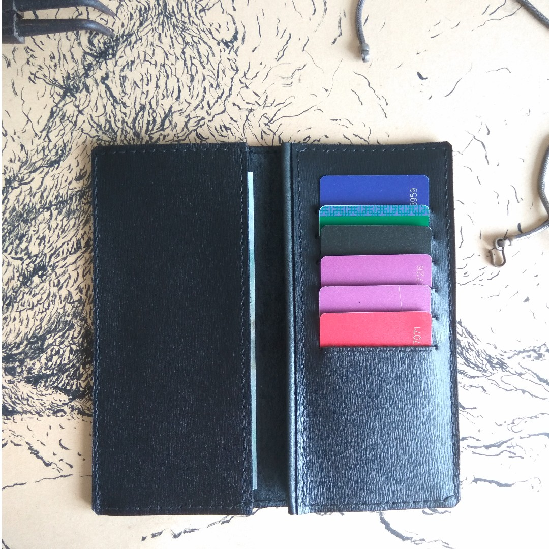 Simple Leather Long Wallet *Special OFFER !!