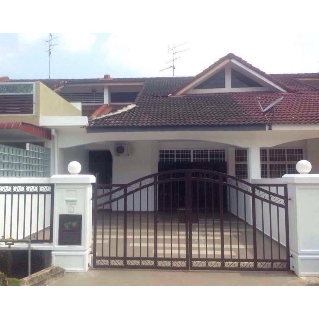 Low Rent House: Single Storey House For RENT - Taman Perling (vv)
