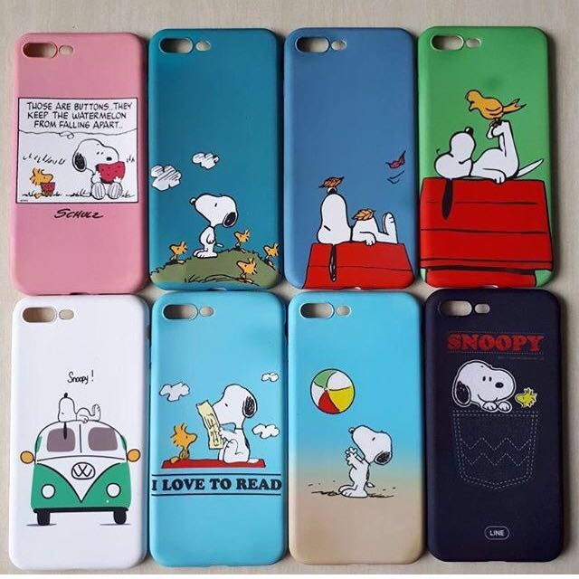 Softcase Snoopy Peanuts Series